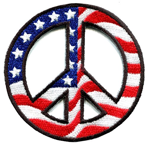 Peace Flag Patch - 4