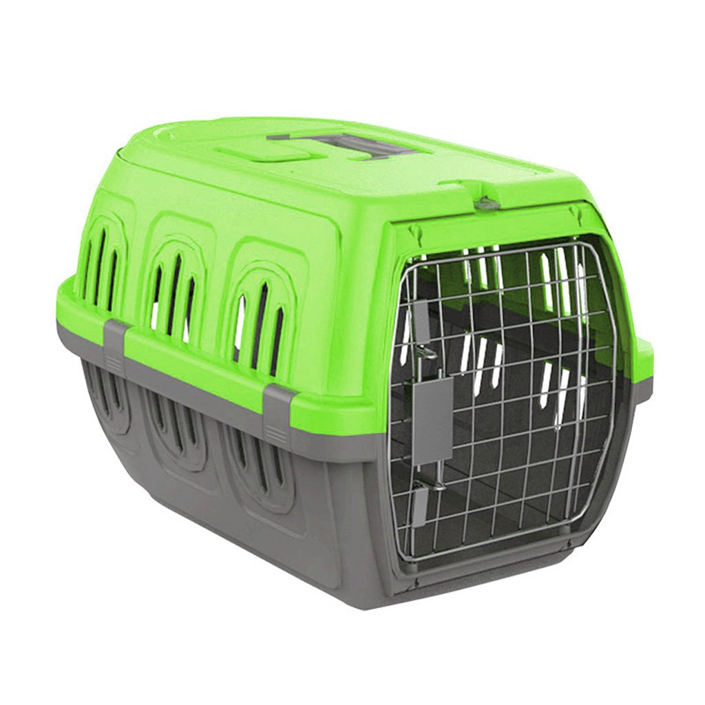 CHONGWFS Fashion Atmosphere Pet Aviation Box Lightweight and Portable Long Lasting Pet Travel Box Small Dog and Cat Pet Supplies