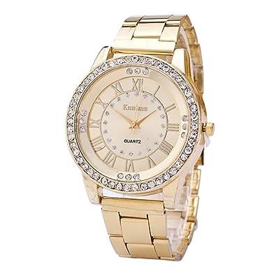 Relojes para Las Mujeres, ZODOF Reloj de Pulsera de Reloj de Cuarzo analógico de Cuarzo de Dama analógico clásico: Amazon.es: Ropa y accesorios