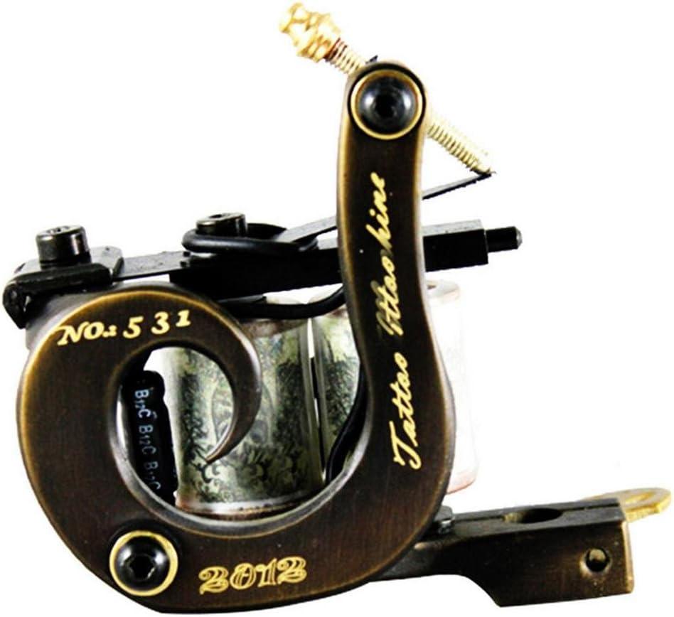 JUN máquina de grabado de cobre secante tatuaje máquina de bobina ...