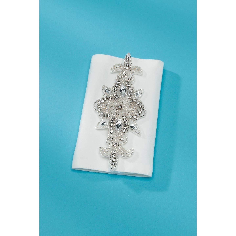 Darice Bulk Buy DIY David Tutera Applique Bouquet Wrap Cream (3-Pack) DT2006B
