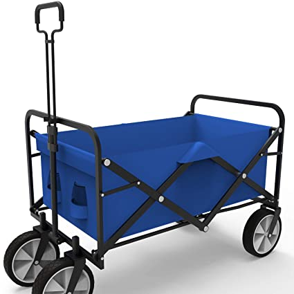 Amazon.com: Carro plegable para acampada, playa, jardín ...