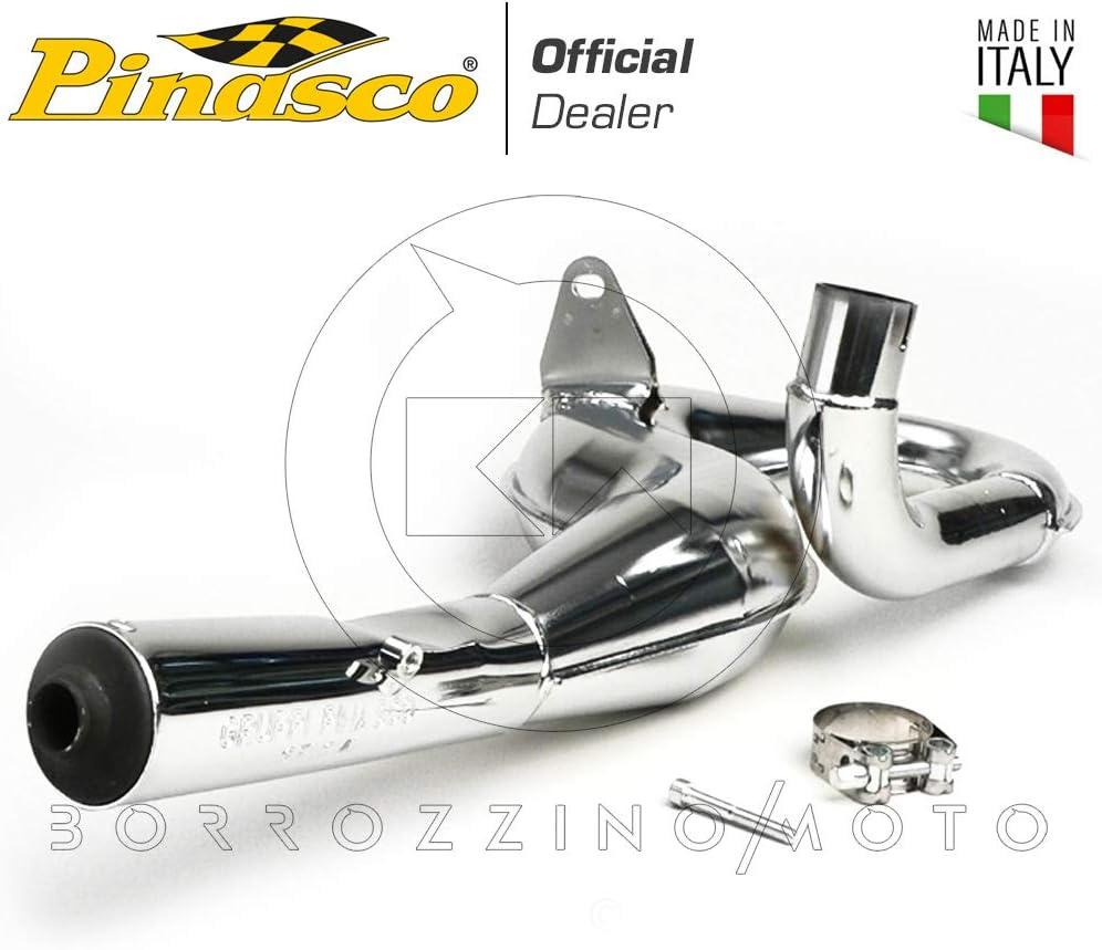 Pinasco Kompletter Auspuff Racing Verchromt Piaggio Vespa Px Cosa 125 150 Lml Star 2t Art 25560815 Auto