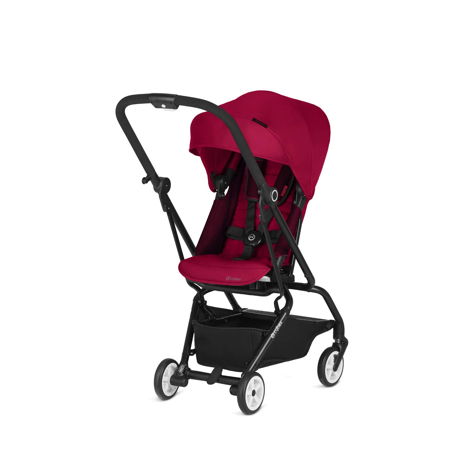 Cybex 2018 Eezy S Twist Stroller for Scuderia Ferrari''Racing Red'' - Unique one-Hand rotatable seat Unit