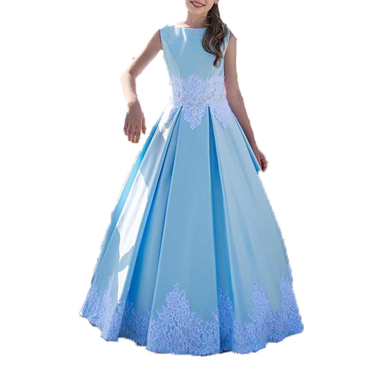 Bleu age 13 Hellobridal - Robe - Boule - Fille