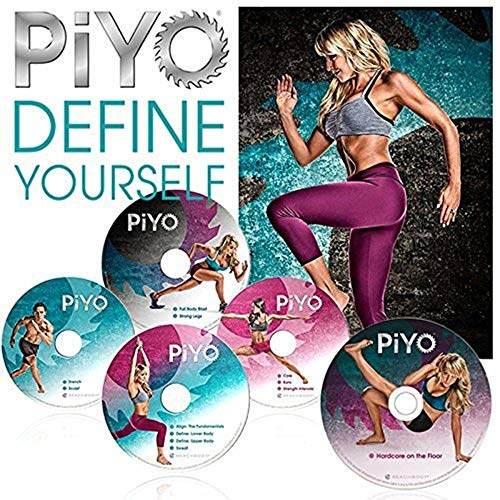 ZOMLAN PiYo DVD, Workout | Pilates/Yoga Workout with Fitness Guide Nutrition Plan (PiYo)