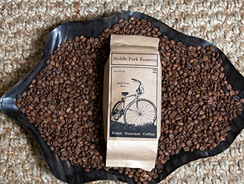 Middle Fork Back Pedal Brew | Medium Roast Whole Bean Coffee, Pack of 2 | Roasted in Seattle