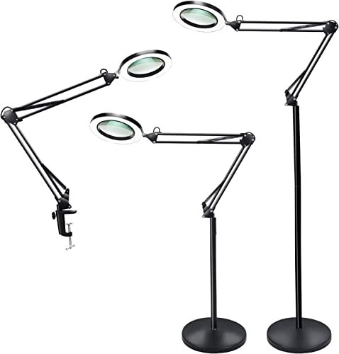 Psiven Magnifying Glass Floor Lamp