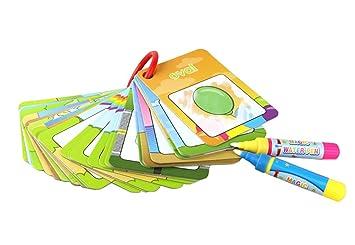 Doodle Malbücher Enthüllung Mit Wasser 26pcs123mit Geschenke Verpackungaevea Magisches Wassermalbuch Kinder Bastelset Malen Mit Wasser 2 Doodle