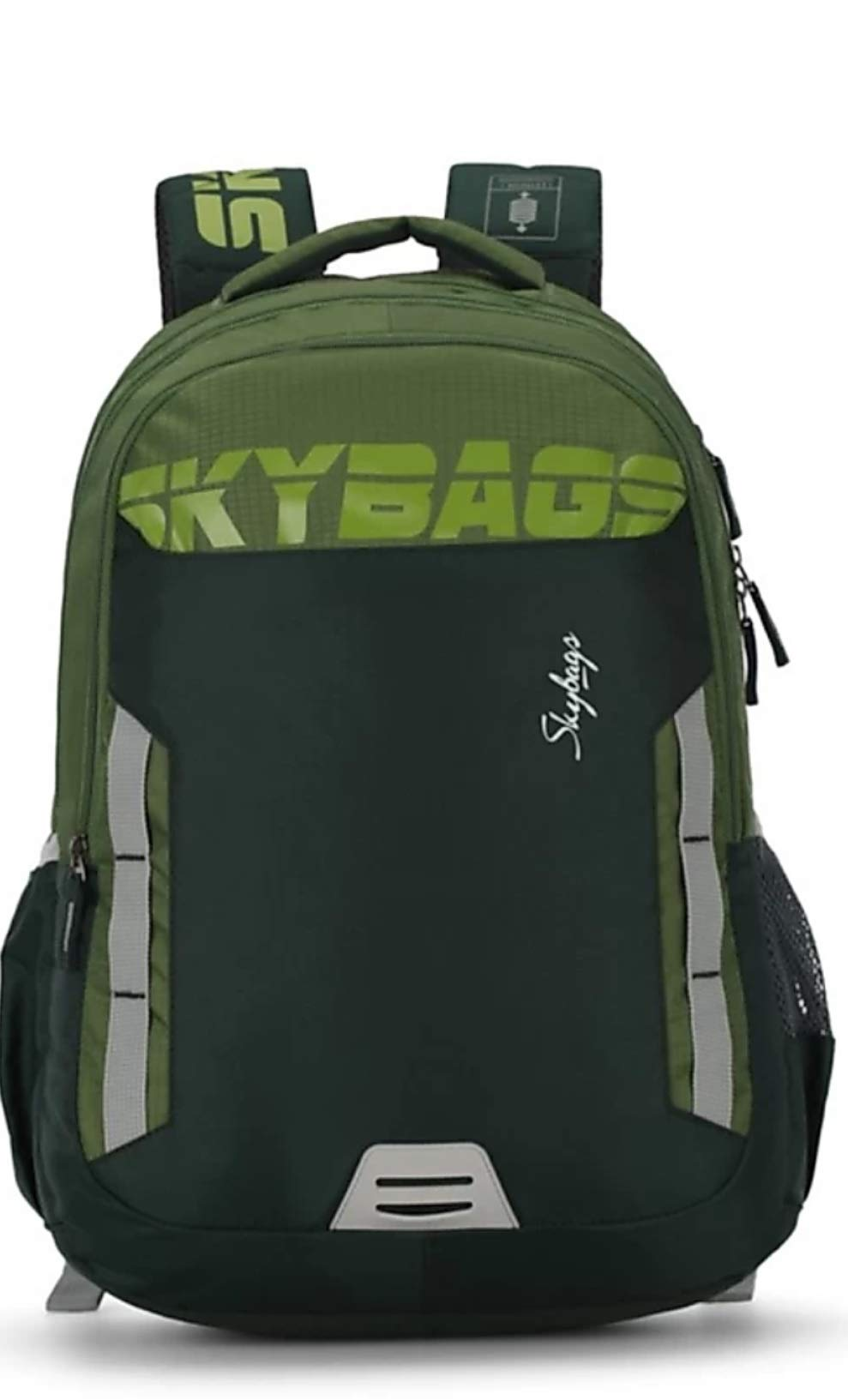 Skybags Figo Extra 02 36 Ltrs Green Casual Backpack (FIGO Extra 02) product image