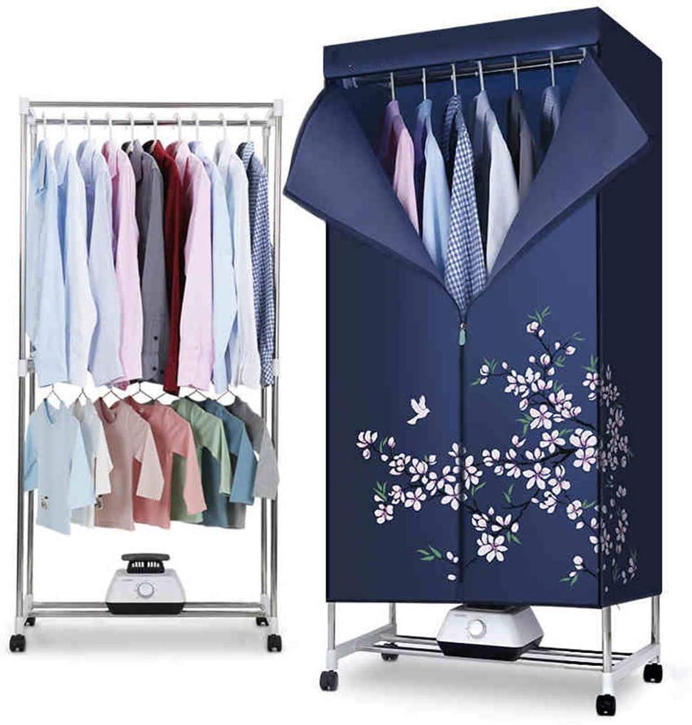 GUO@ Secador de ropa moderno del estilo noble armario plegable 1200W con el calentador de cerámica impermeable, contador de tiempo automático secadoras de ropa