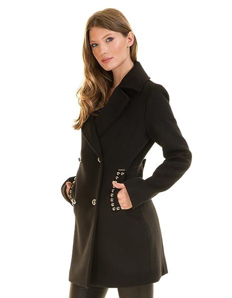 Guess Manteau Ursola Noir Taille Xs  Amazon.fr  Vêtements et accessoires 11bebe144535