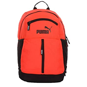 Puma Red Blast and Black Casual Backpack (7512203)  Amazon.in  Bags ... f1589ff61d824