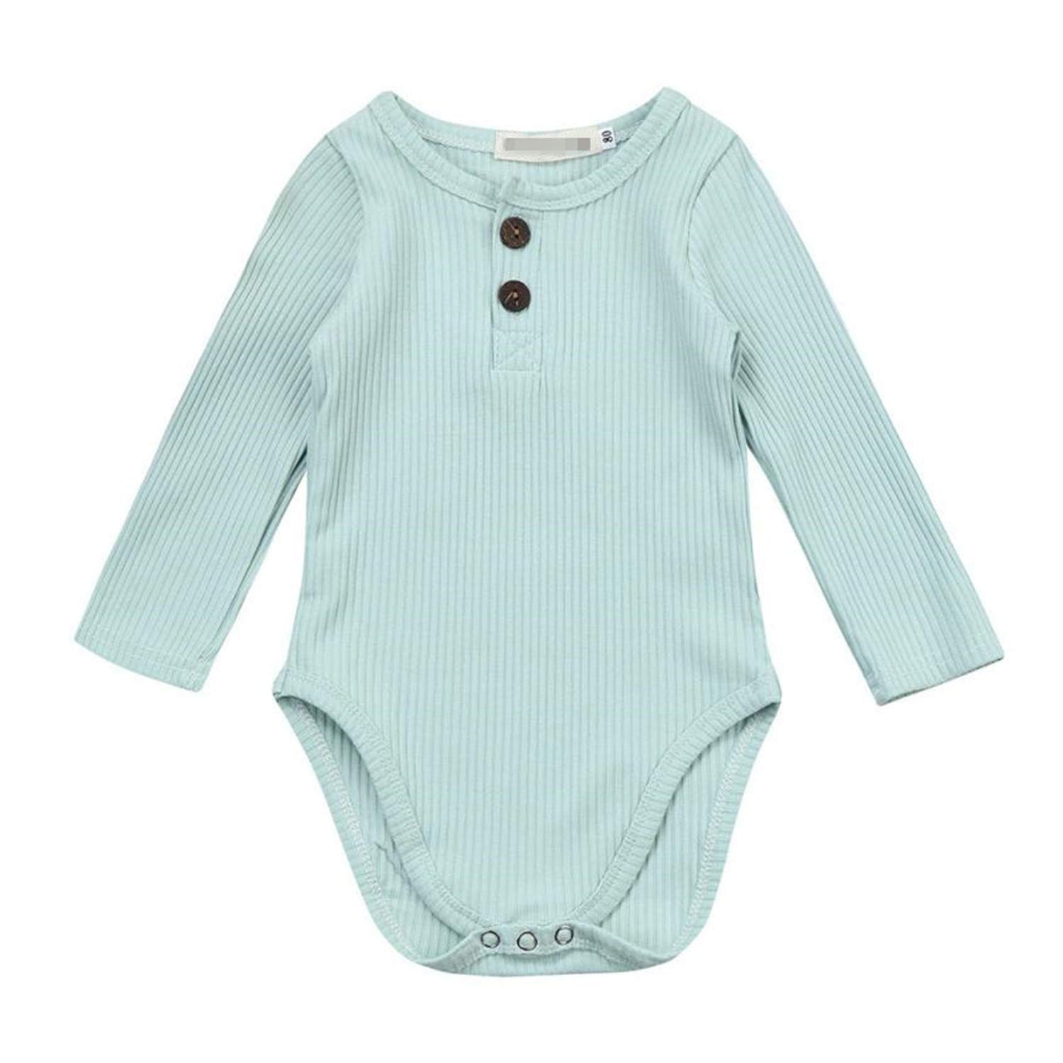 Giles Abbot Spring Cotton Baby Girl Stripe Knit Jumpsuit Romper Baby Long Sleeve Outfit