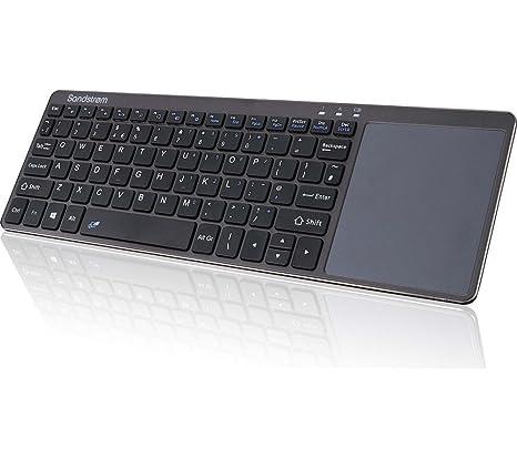 Sandstrom skbwltp17 teclado inalámbrico (venta sin USB Dongle