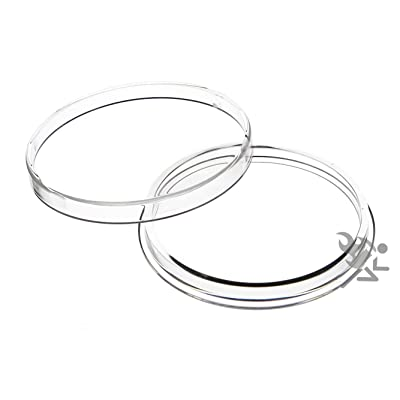 OnFireGuy Air-Tite Brand 2oz Silver Round Direct Fit 47.12mm Coin Capsule Holders Qty: 3: Toys & Games