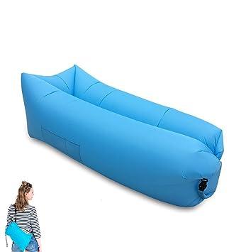 Yootu hinchable Air sofá con válvula de aire y malla, nueva ...