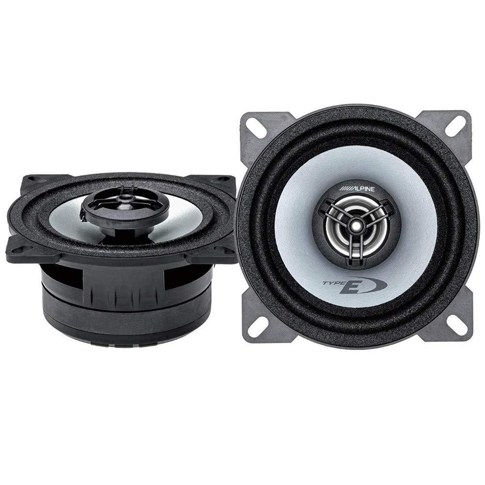 ALPINE SXE-1025S SXE 1025S pair of loudspeakers 10.00 cm 100 mm 4 25 watt rms and 180 watt max predisposition 2-way coaxial system for standard car door housings