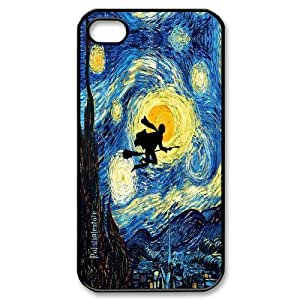 [AinsleyRomo Phone Case] For Iphone 4 4S case cover -Harry Potter - The Marauders Map-Style 18