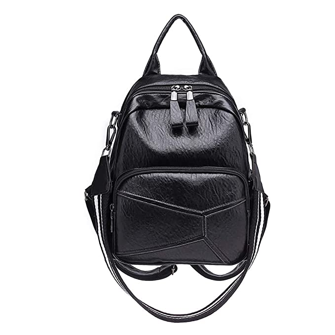 68f4b4b0e285 BEAUTYVAN Women Fashion Backpack Simple Casual Soft Leather Anti-Theft  Travel Small Backpacks School Bags