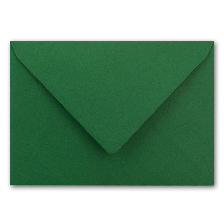 /156/x 220/mm/ /Biquini by Gustav neuser Metallic Oro de Gef/ütterte Carta de Sobres DIN C5 Oscuro de Color Verde/ Color dunkelgr/ün /nassklebung con Tapa Puntiaguda/ Gold 75 Umschl/ä