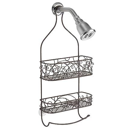 Amazon.com: InterDesign Twigz Shower Caddy – Bathroom Shelves for ...