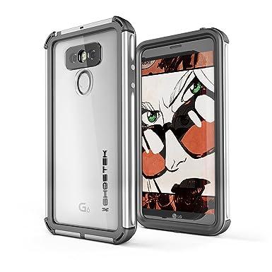 watch 4ac83 093a9 Ghostek Atomic 3.0 LG G6 Waterproof Tough Case (Silver): Amazon.co ...