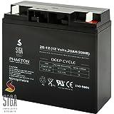 Blei Akku 12V 20AH AGM GEL Batterie ersetzt 17Ah 18Ah LC-RD1217P
