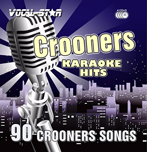 Vocal-Star Karaoke Crooners / Swing Hits CDG CD+G Disc Set - 90 Songs on 4 Discs Including The Best Ever Karaoke Tracks From (Matt Monro,Dean Martin,Frank Sinatra and much ()