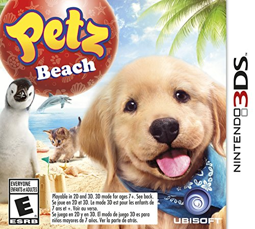 Petz Beach - Nintendo 3DS (Nintendo 3ds Games Dog)