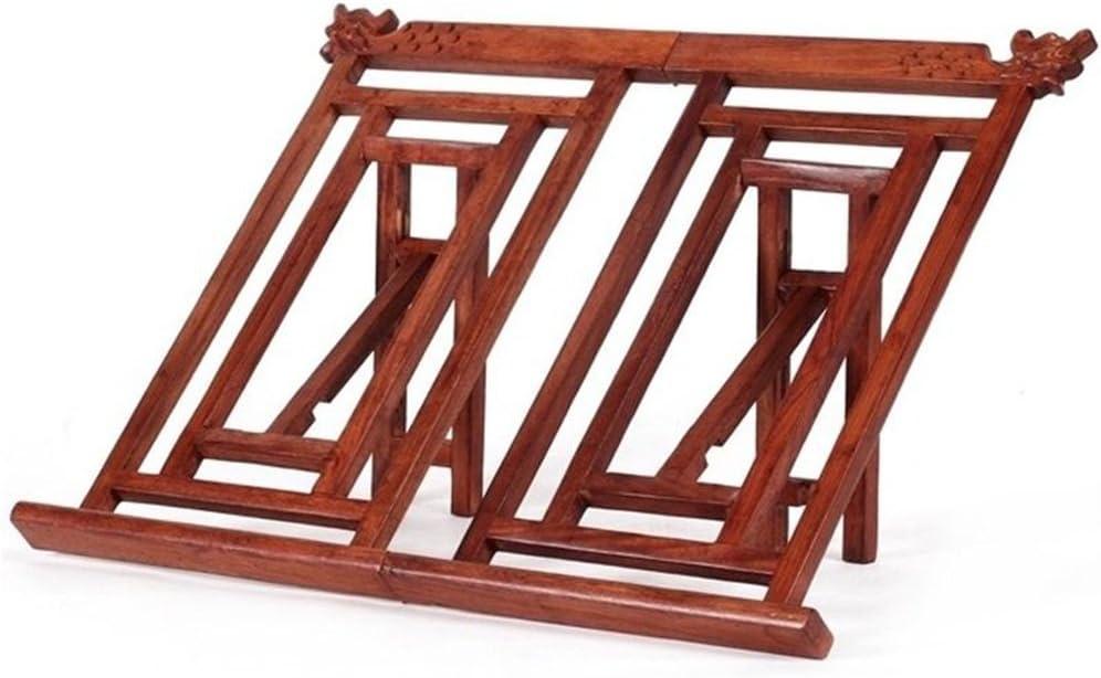 Bookshelf Marco de lectura/dispositivo de lectura/soporte del libro/artefacto de la lectura/poste simple creativo de la madera sólida (Color : Rojo): Amazon.es: Hogar