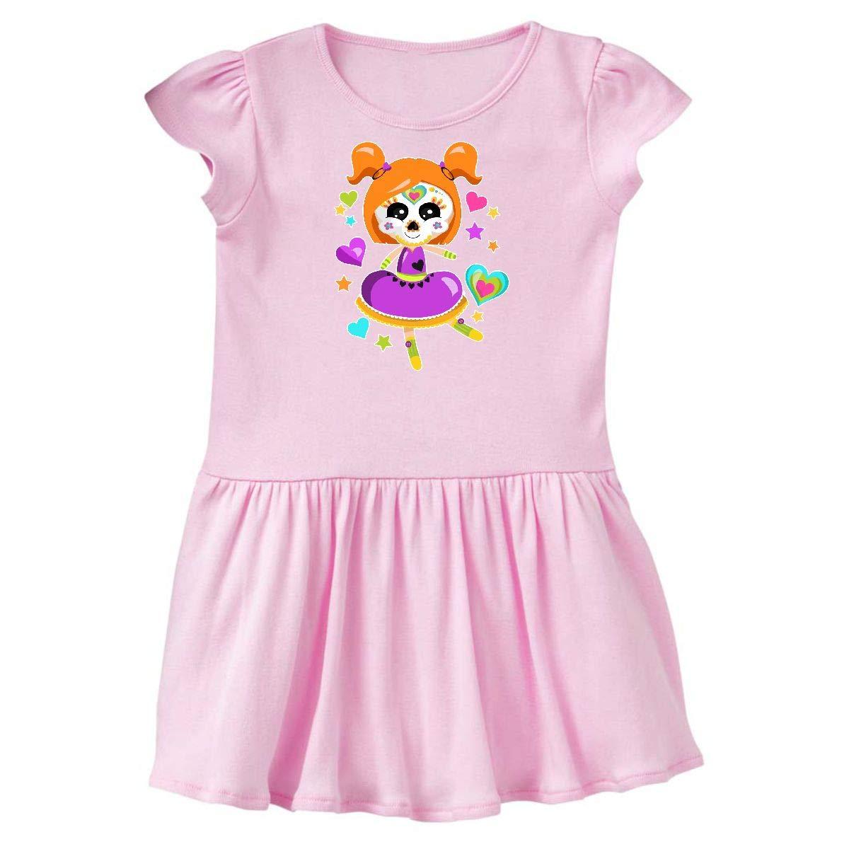 inktastic - Dancing Decorative Skull Girl Infant Dress 14-204303-197