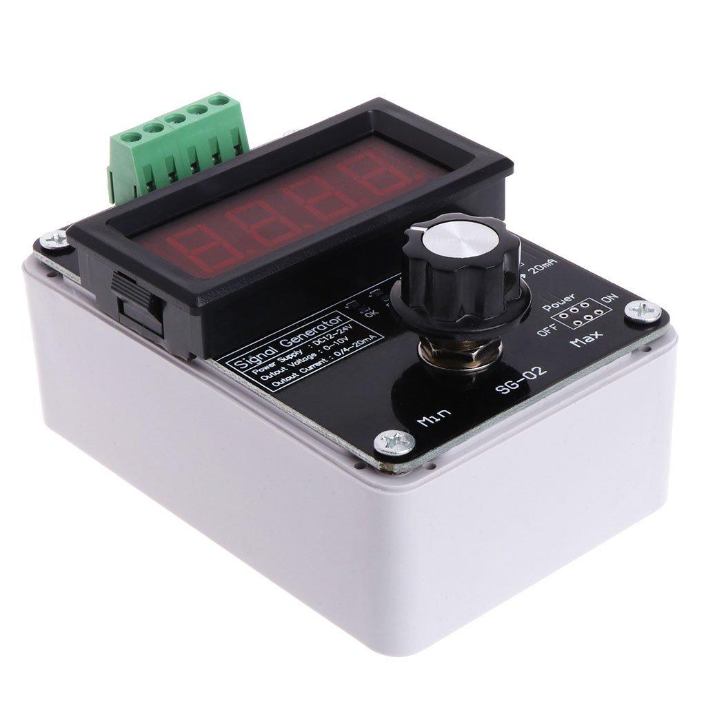 Zijianzjj New Regolabile Tensione di Corrente analogico Simulator 0/~ 20mA generatore di Segnale DC 0/~ 10/V