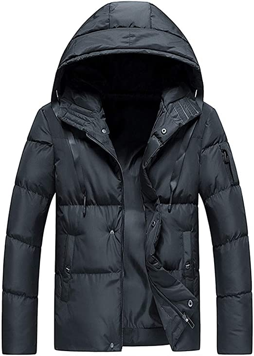Mens Winter 2 in1 Outdoor Hooded Patchwork Coat Softshell Hiking/& Ski Jacket SP