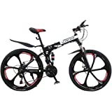 Altruism X9 Folding Bicycles for Mens Aluminum Road Bicycle Mountain Bike 21 speed 26 inch Downhill Bikes