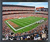 "FirstEnergy Stadium Cleveland Browns Photo (Size: 17"" x 21"") Framed"