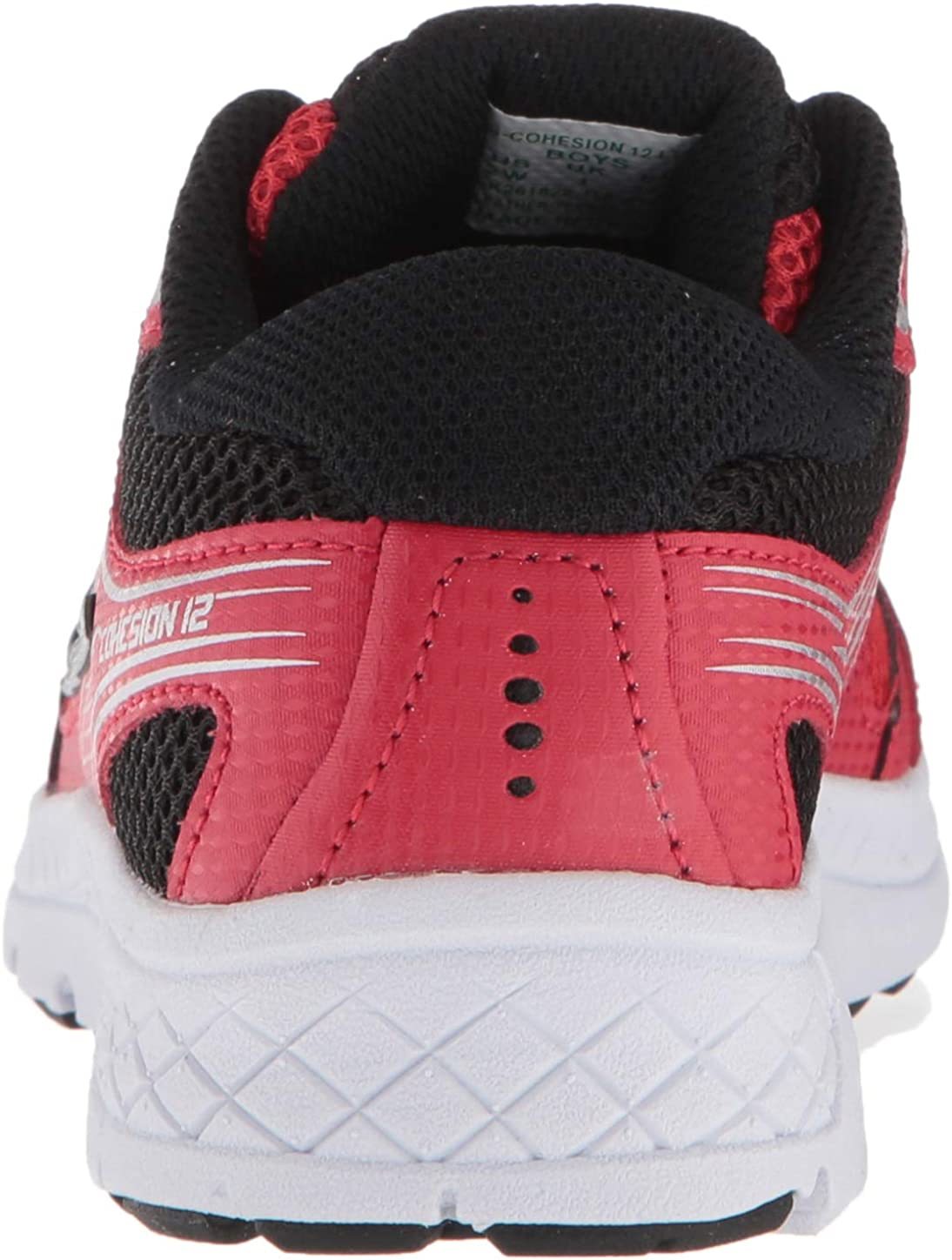 060 Medium US Big Kid red//Black Saucony Unisex-Kids Cohesion 12 LTT Sneaker