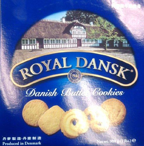 Royal Dansk Danish Butter Cookies 32 Oz