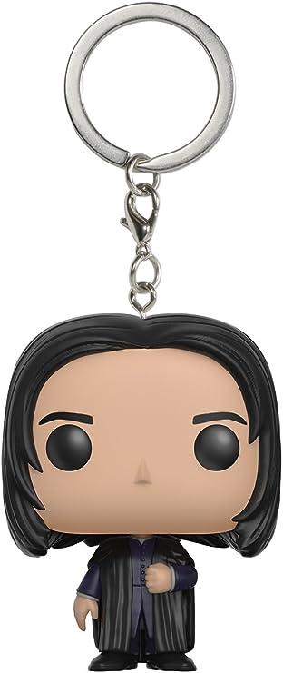 Funko 12388 Harry Potter 12388-PDQ Pocket POP Severus Snape Keychain Figure