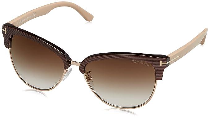 Amazon.com: Tom Ford anteojos de sol Fany de la mujer en ...