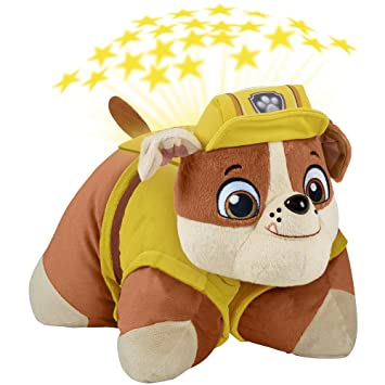 Amazon nickelodeon paw patrol pillow pets rubble dream lites nickelodeon paw patrol pillow pets rubble dream lites stuffed animal night light mozeypictures Images