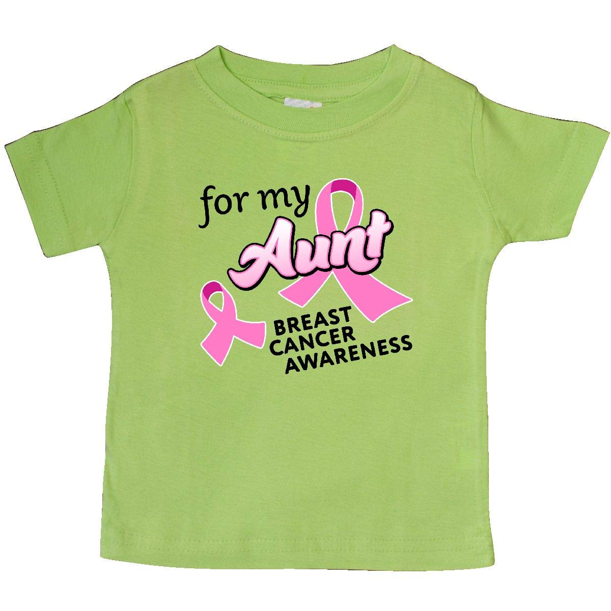 inktastic for My Aunt Breast Cancer Awareness Baby T-Shirt