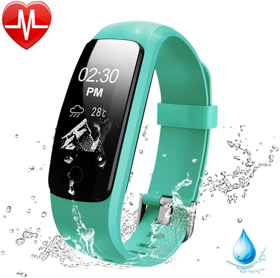 OMNiX 107HR Plus_Multi Sport Heart Rate Monitor, Bluetooth Smart Band and Fitness Tracker, Call Alert with Caller ID, SMS Alert and Notifications Much More Like a Smart Watch