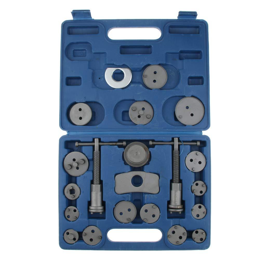 Flameer 21pcs Disc Brake Caliper Piston Wind Back Tool SUV Maintenance Hand Tool Practical Compressor Tool 12.67.681.57inch