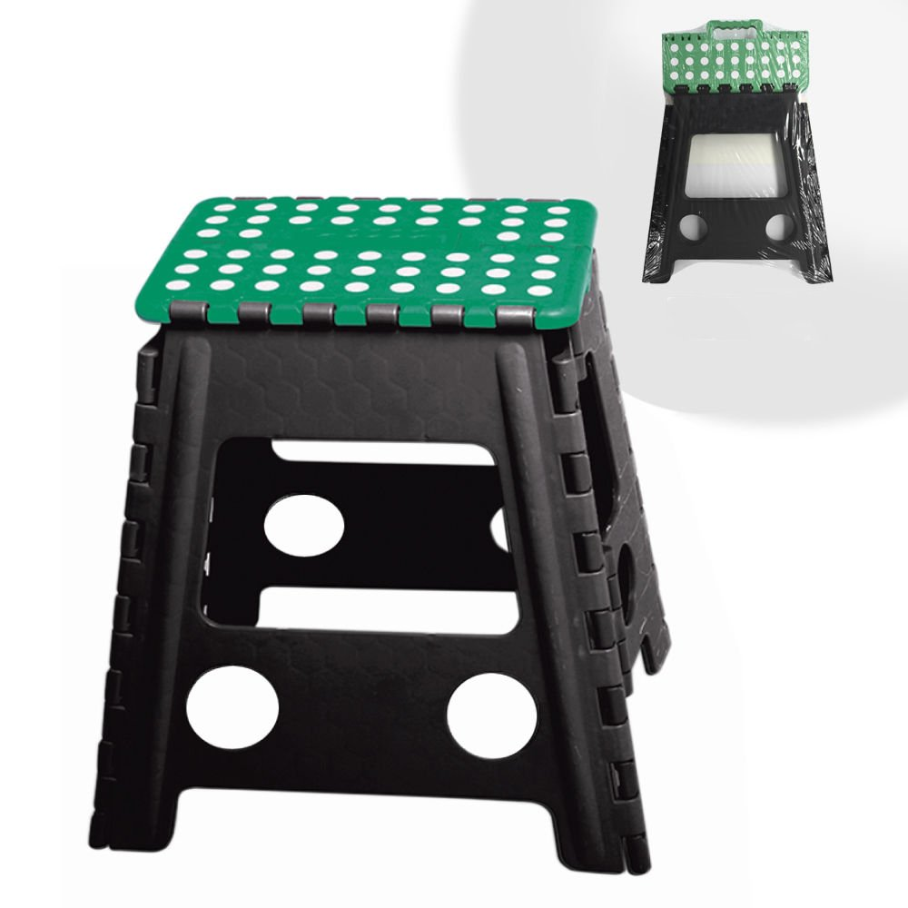Home In Style Small Folding Step Stool Ladder (Doted Black Small Stool)
