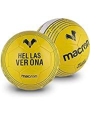 Hellas Verona FC HVR19, Pallone Allenamento Unisex Adulto, Bianco/Navy/Giallo, Taglia Unica