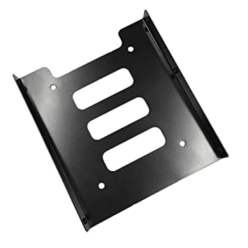 Profesional 2.5 Inch a 3.5 Inch SSD HDD Adaptador de Metal Rack ...