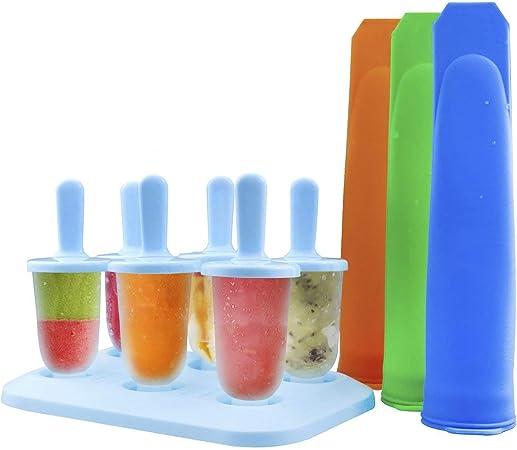 Compra ZesGood - Juego de 9 moldes de silicona de uso alimentario ...