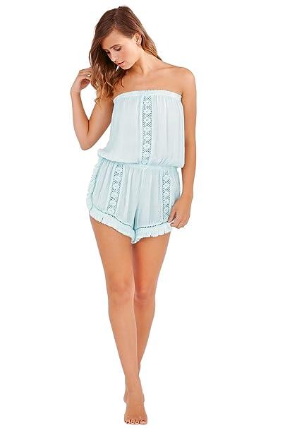 Boutique - Mono - sujetador bandeau - Sin mangas - para mujer: Amazon.es: Ropa y accesorios