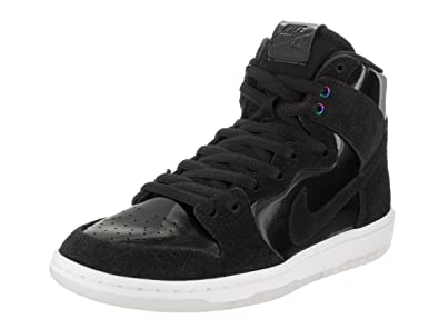 71bdcbc9703b Nike Mens SB Zoom Dunk High Pro BlackBlack White Clear Skate Shoe 6 Men .